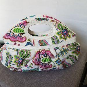 """""""Vera Bradley"""" Retro Style Double Handle Handbag"""